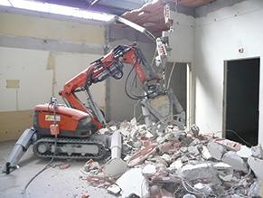 SERVIDIAM - robot de démolition